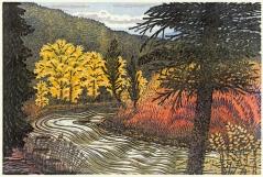 woodblock print, Way of September