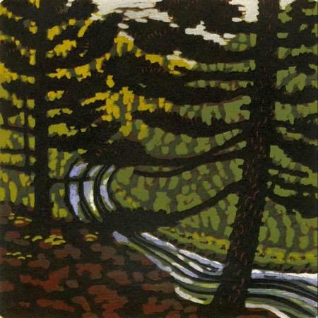 Gallatin River at Twilight
